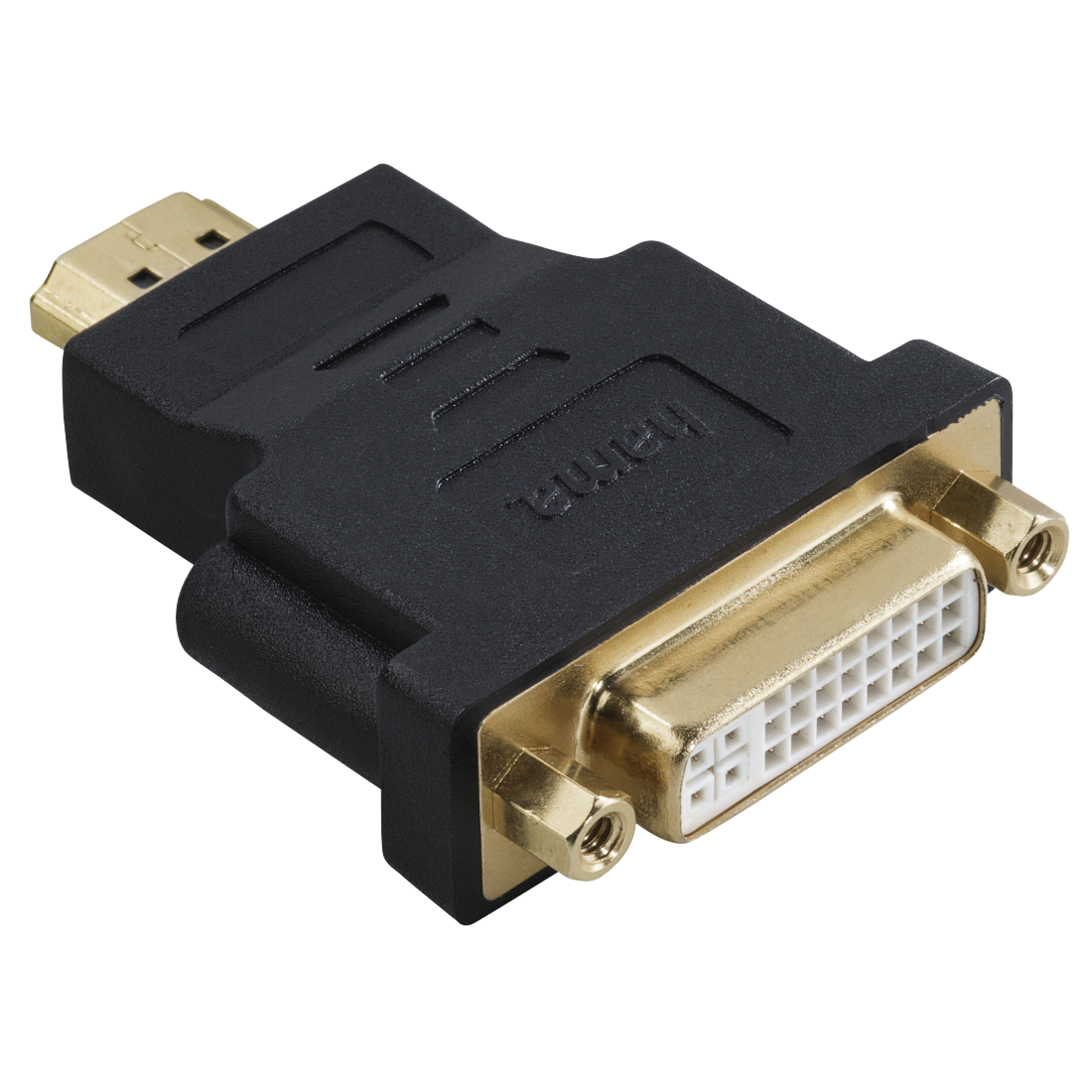 abx High-Res Image - Hama, DVI HDMI™ Adapter, HDMI™ plug - DVI socket, gold-plated, shielded