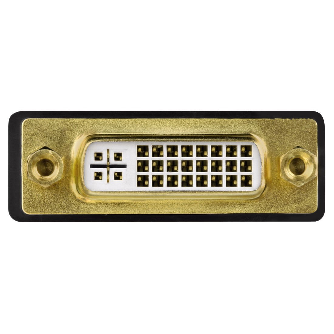 dex High-Res Detail - Hama, DVI HDMI™ Adapter, HDMI™ plug - DVI socket, gold-plated, shielded