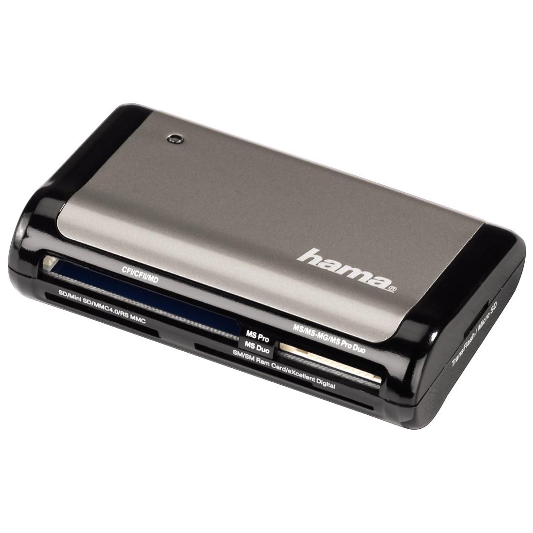 Hama 00049015 hama universal usb 20 card reader universal usb 20 card reader reheart Choice Image