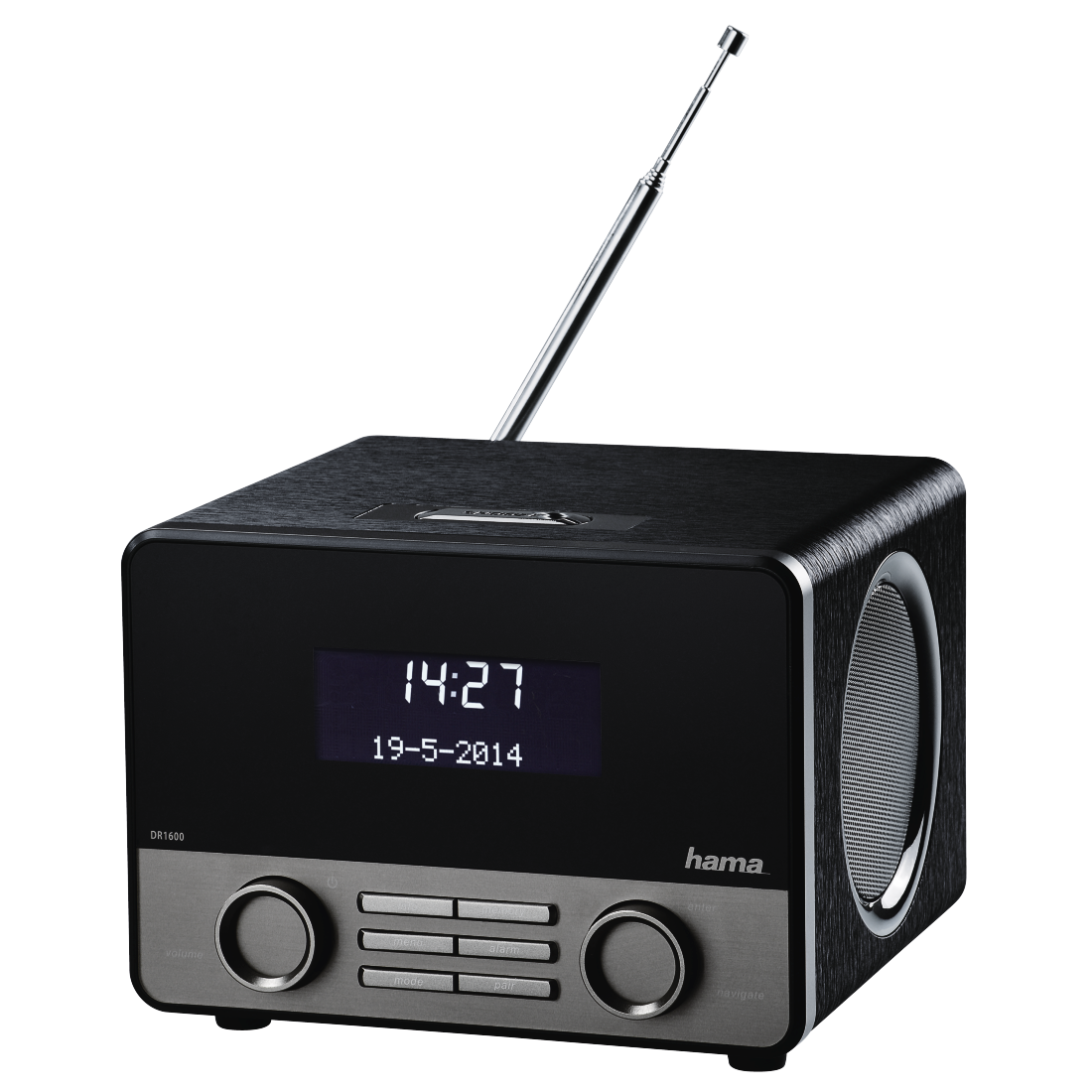 abx2 High-Res Image 2 - Hama, DR1600BT Digital Radio, DAB+/FM/Bluetooth