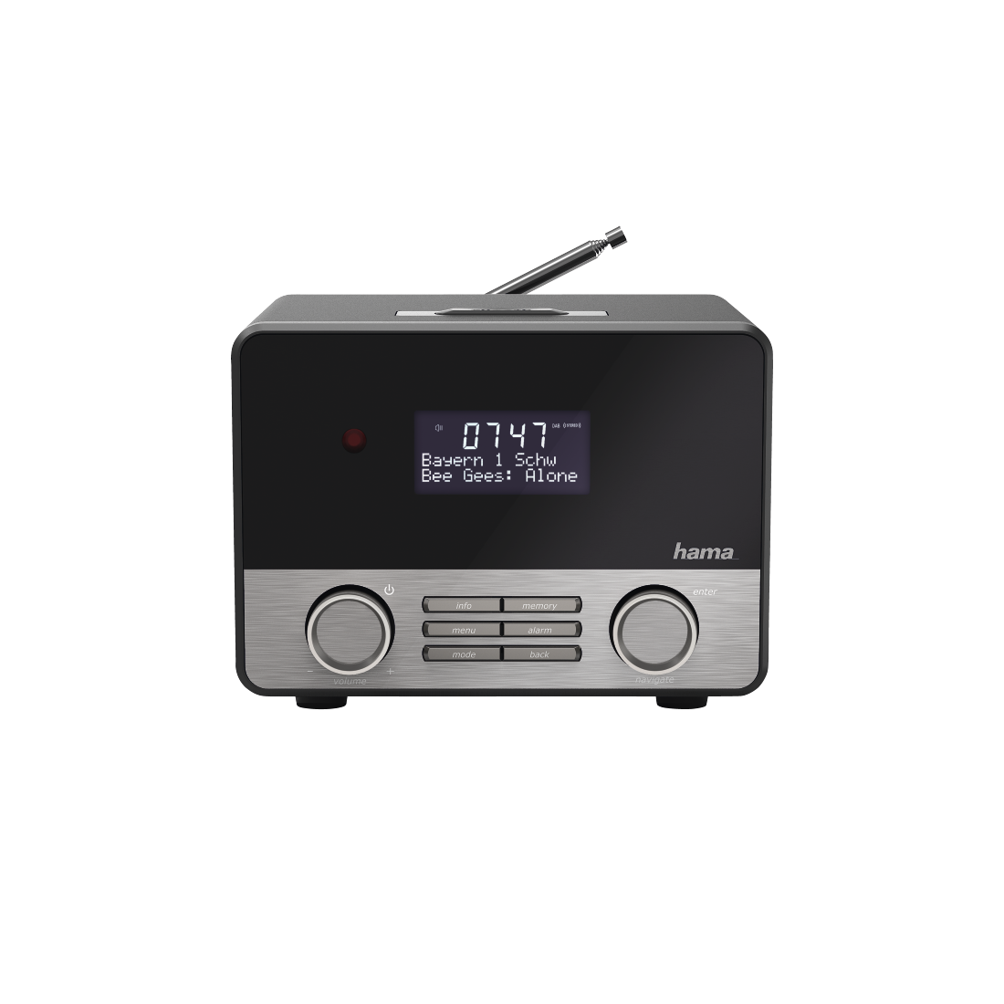 abx3 High-Res Image 3 - Hama, DR1600BT Digital Radio, DAB+/FM/Bluetooth