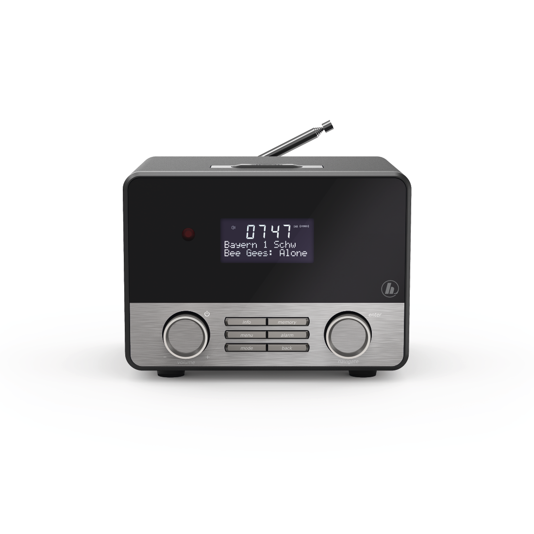 abx4 High-Res Image4 - Hama, DR1600BT Digital Radio, DAB+/FM/Bluetooth