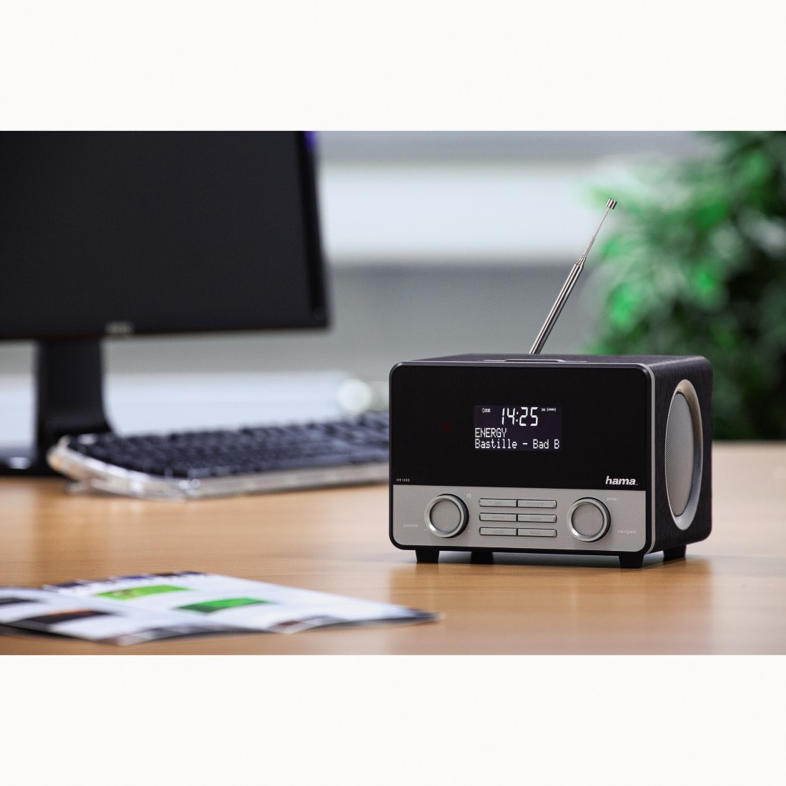 awx2 High-Res Appliance 2 - Hama, DR1600BT Digital Radio, DAB+/FM/Bluetooth