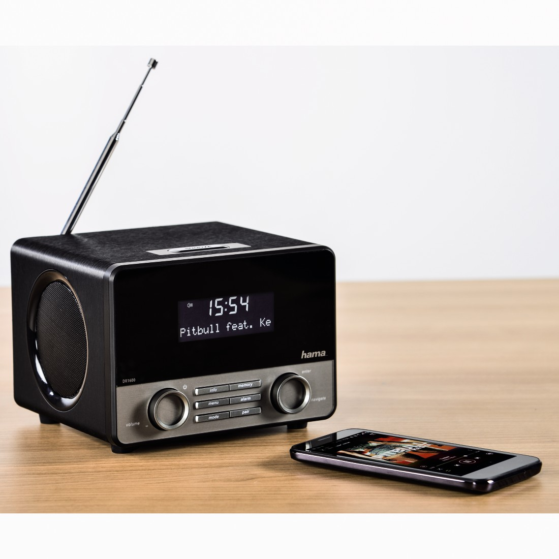 awx4 High-Res Appliance 4 - Hama, DR1600BT Digital Radio, DAB+/FM/Bluetooth