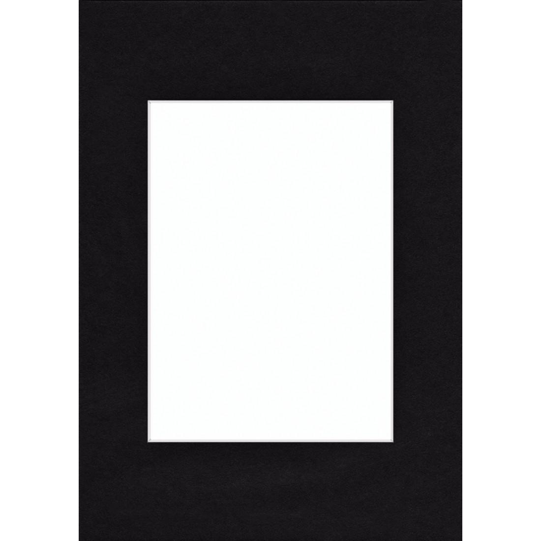 00063415 Hama Premium Passepartout, Smooth Black, 30 x 40 cm | hama.com