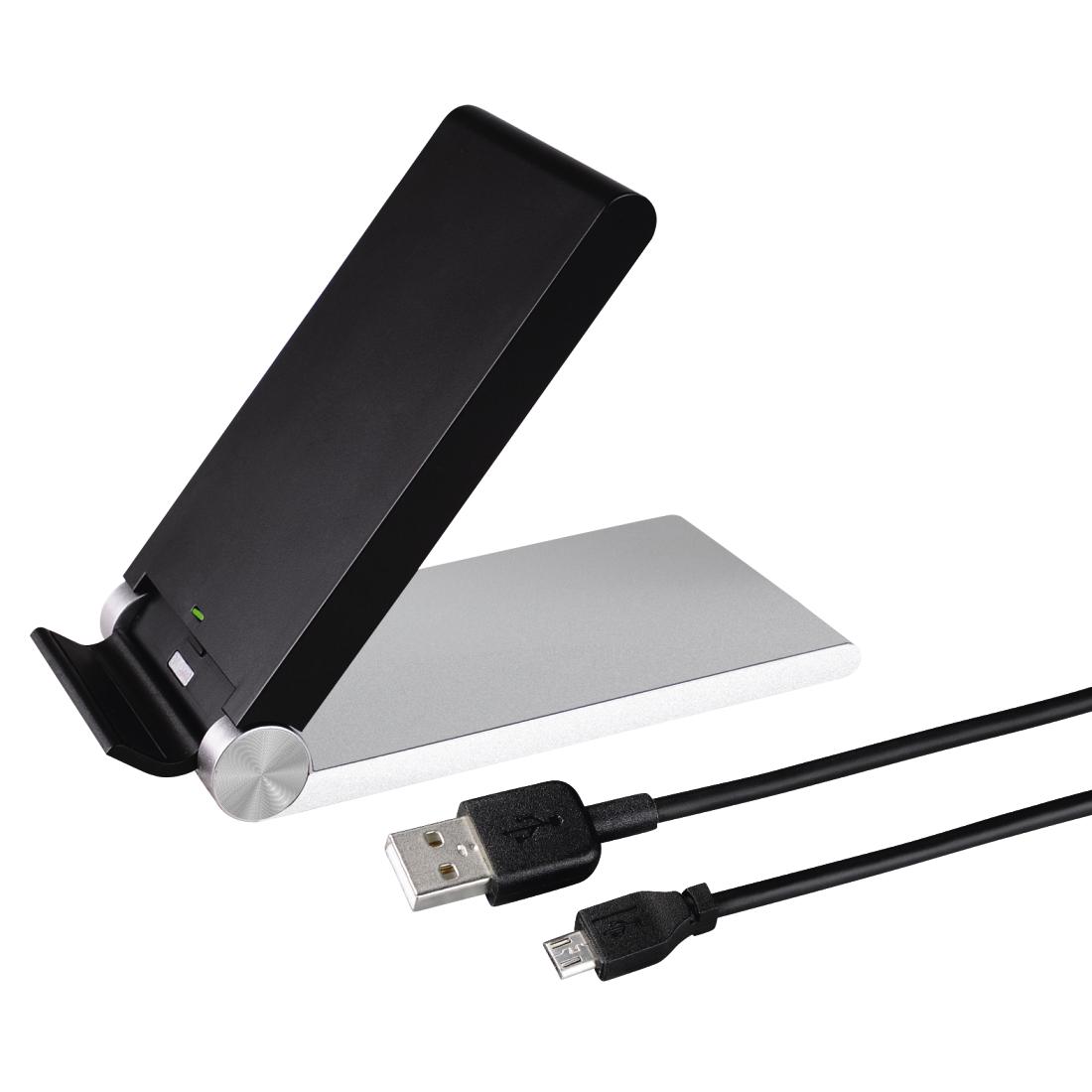 00080595 hama desk induction charger. Black Bedroom Furniture Sets. Home Design Ideas