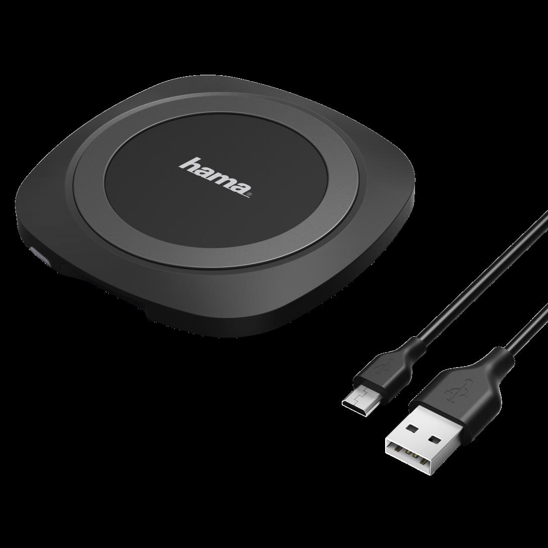 00080599 hama wireless ladeger t basic f r smartphones. Black Bedroom Furniture Sets. Home Design Ideas