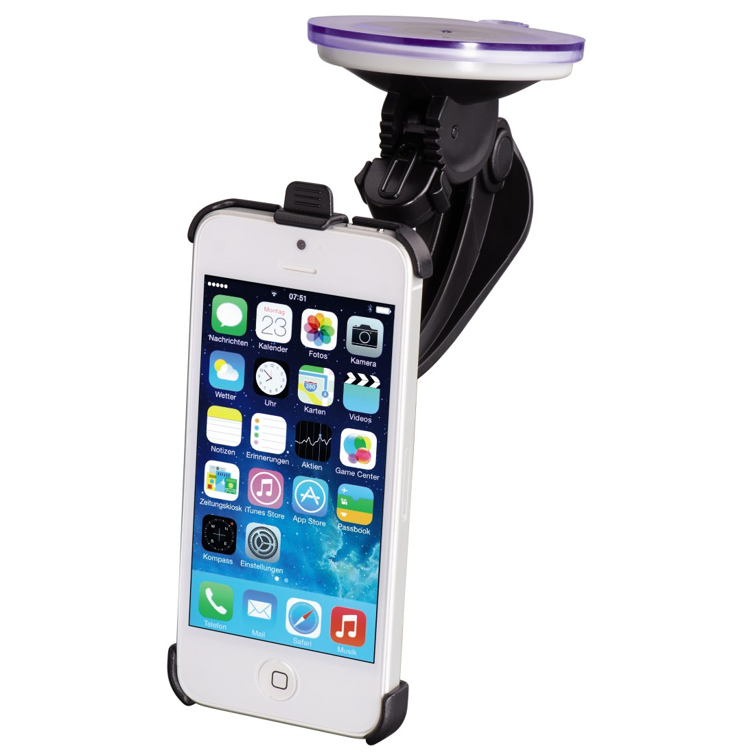 awx High-Res Appliance - Hama, Basic Holder for Apple iPhone 5/5s