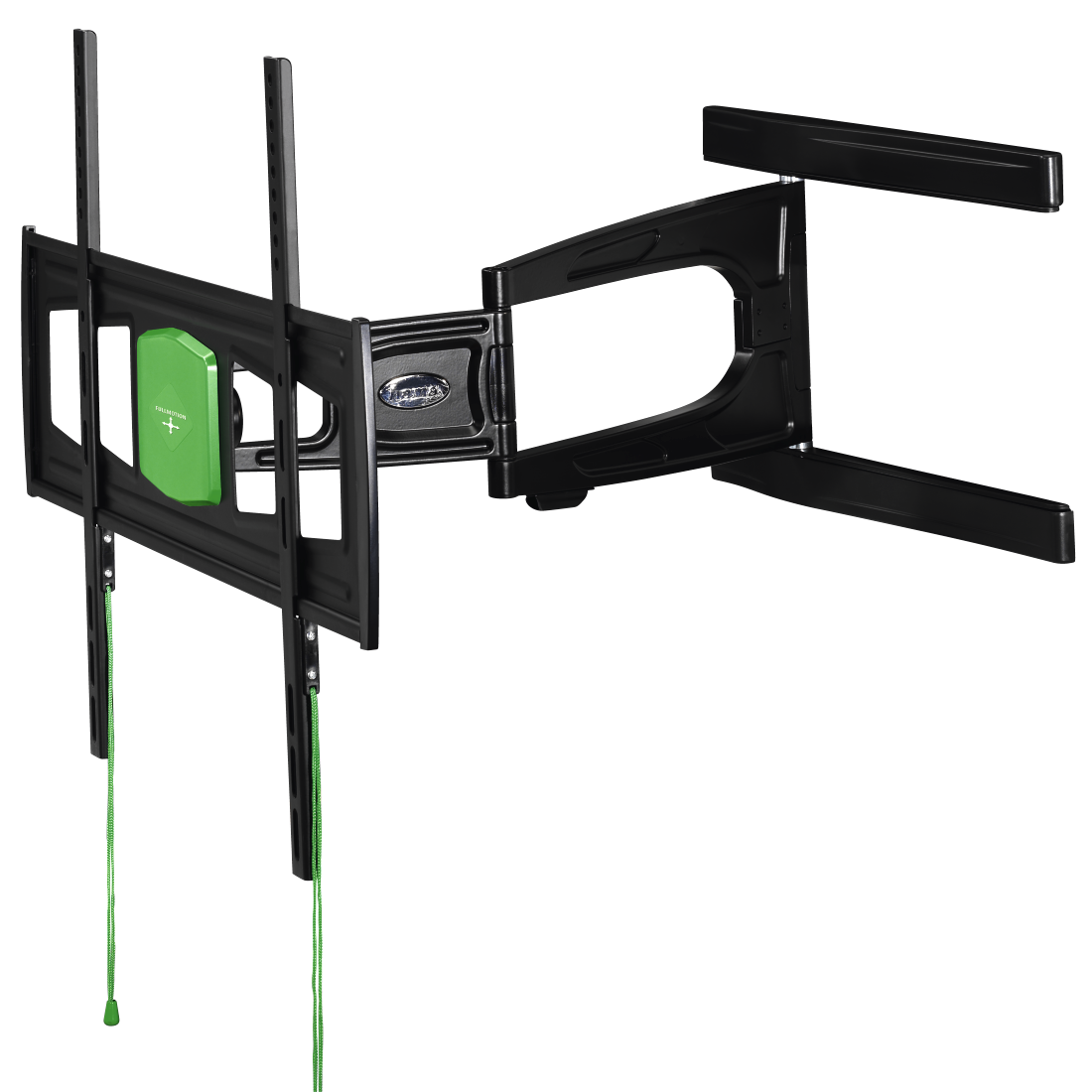 abx2 High-Res Image 2 - Hama, Ultraslim FULLMOTION TV Wall Bracket, 3 stars, 165 cm (65), 2 arms, bk