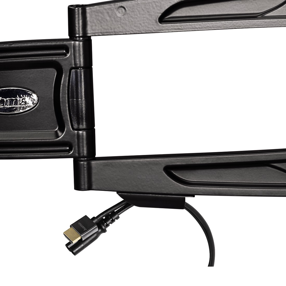 dex4 High-Res Detail 4 - Hama, Ultraslim FULLMOTION TV Wall Bracket, 3 stars, 165 cm (65), 2 arms, bk