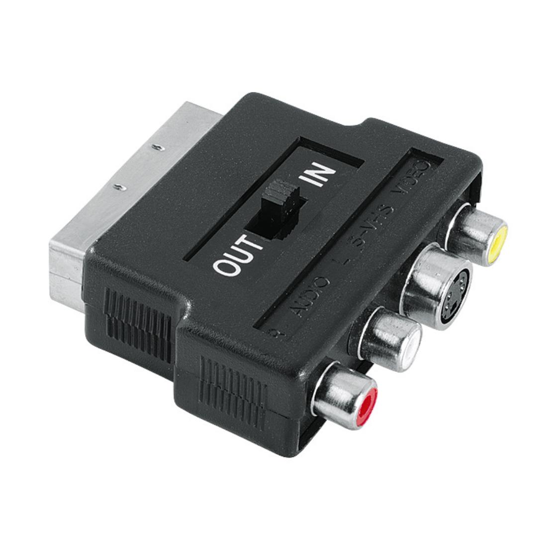 hama.com   99122238 Hama Video Adapter, S-VHS socket/3 RCA sockets ...