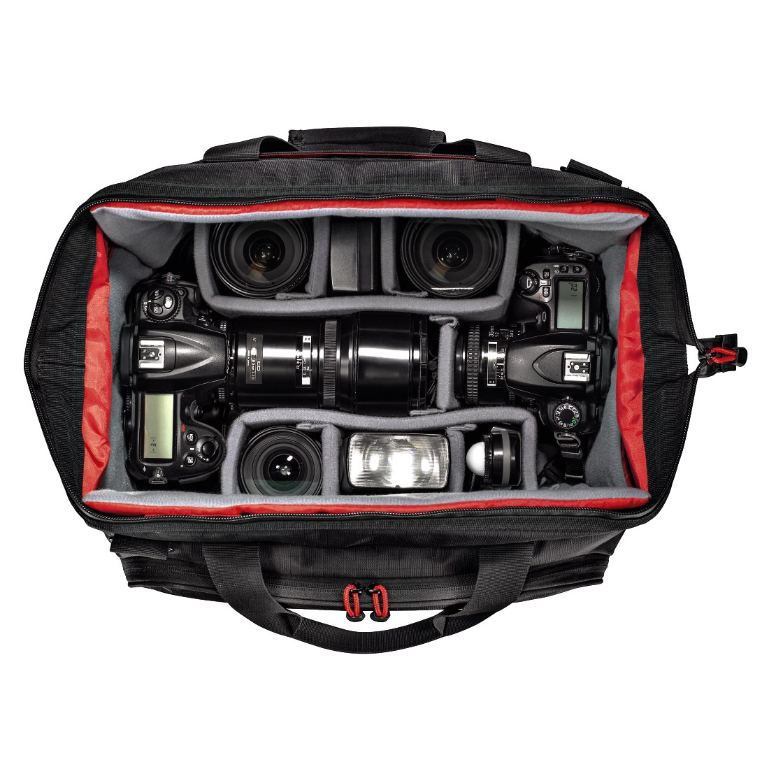 awx High-Res Appliance - Hama, Multitrans Camera Bag, 200, black