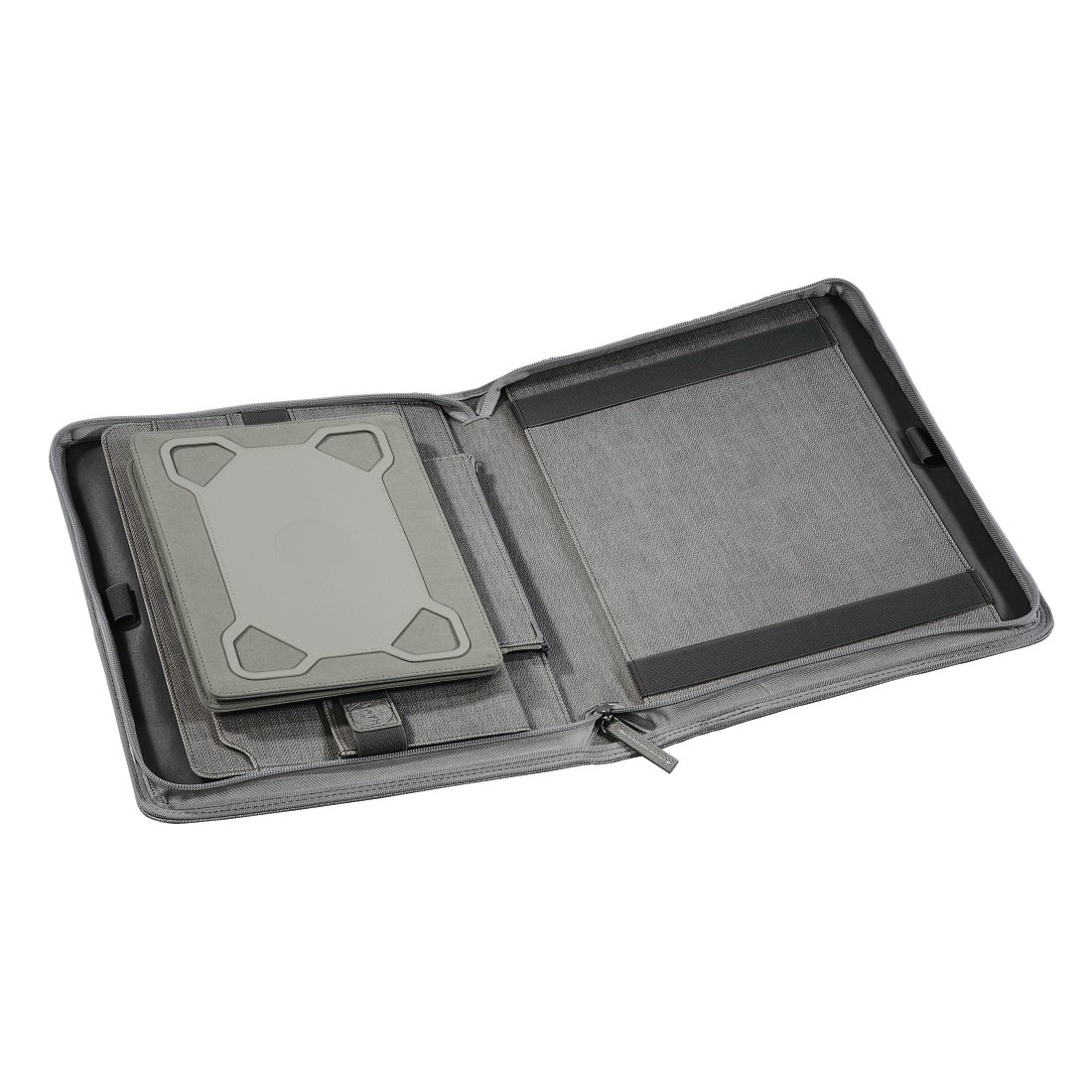 dex3 High-Res Detail 3 - Hama est. 1923, Hannover Tablet Organizer A4, light grey