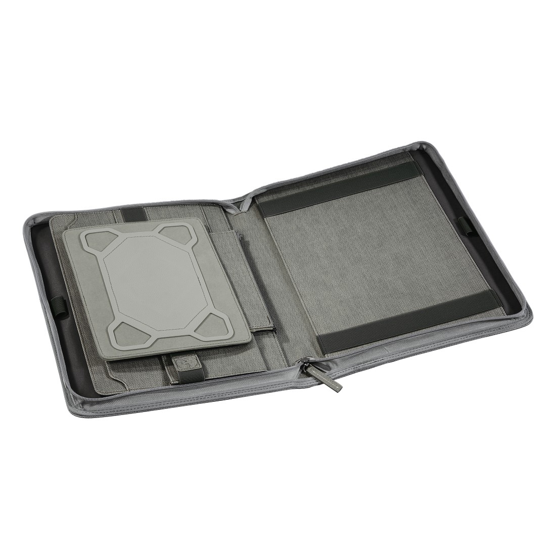 dex4 High-Res Detail 4 - Hama est. 1923, Hannover Tablet Organizer A4, light grey