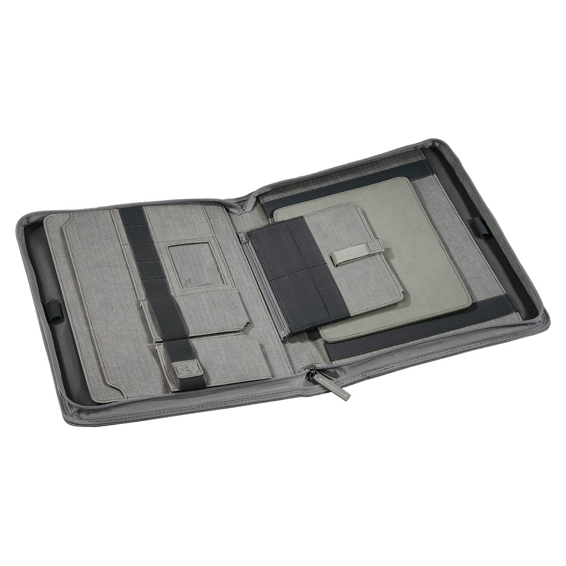 dex5 High-Res Detail 5 - Hama est. 1923, Hannover Tablet Organizer A4, light grey