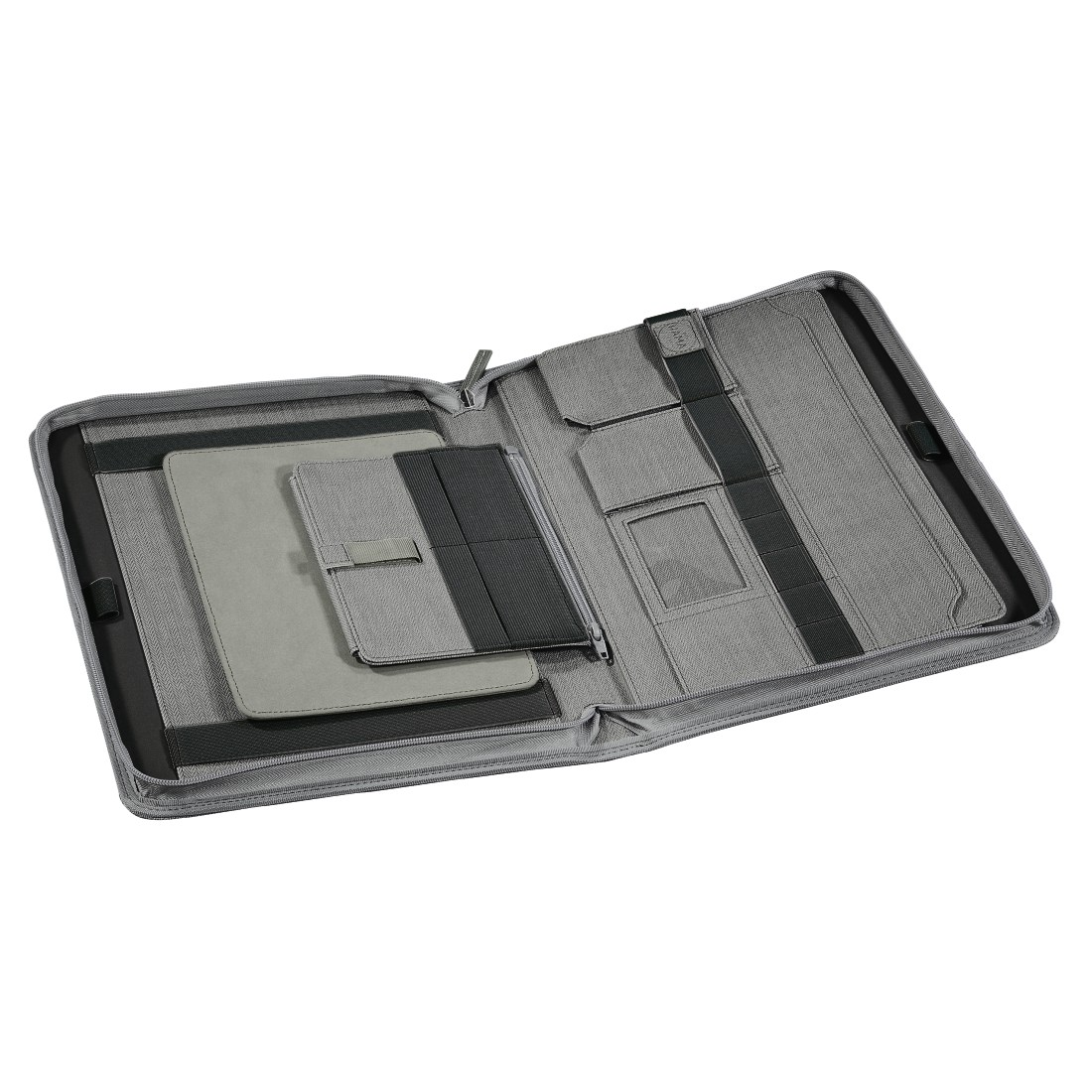 dex6 High-Res Detail 6 - Hama est. 1923, Hannover Tablet Organizer A4, light grey