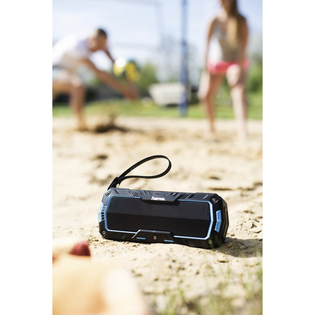 awx High-Res Appliance - Hama, Rockman-L Mobile Bluetooth Speaker, black/blue