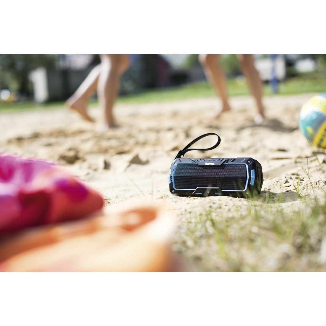 awx2 High-Res Appliance 2 - Hama, Rockman-L Mobile Bluetooth Speaker, black/blue