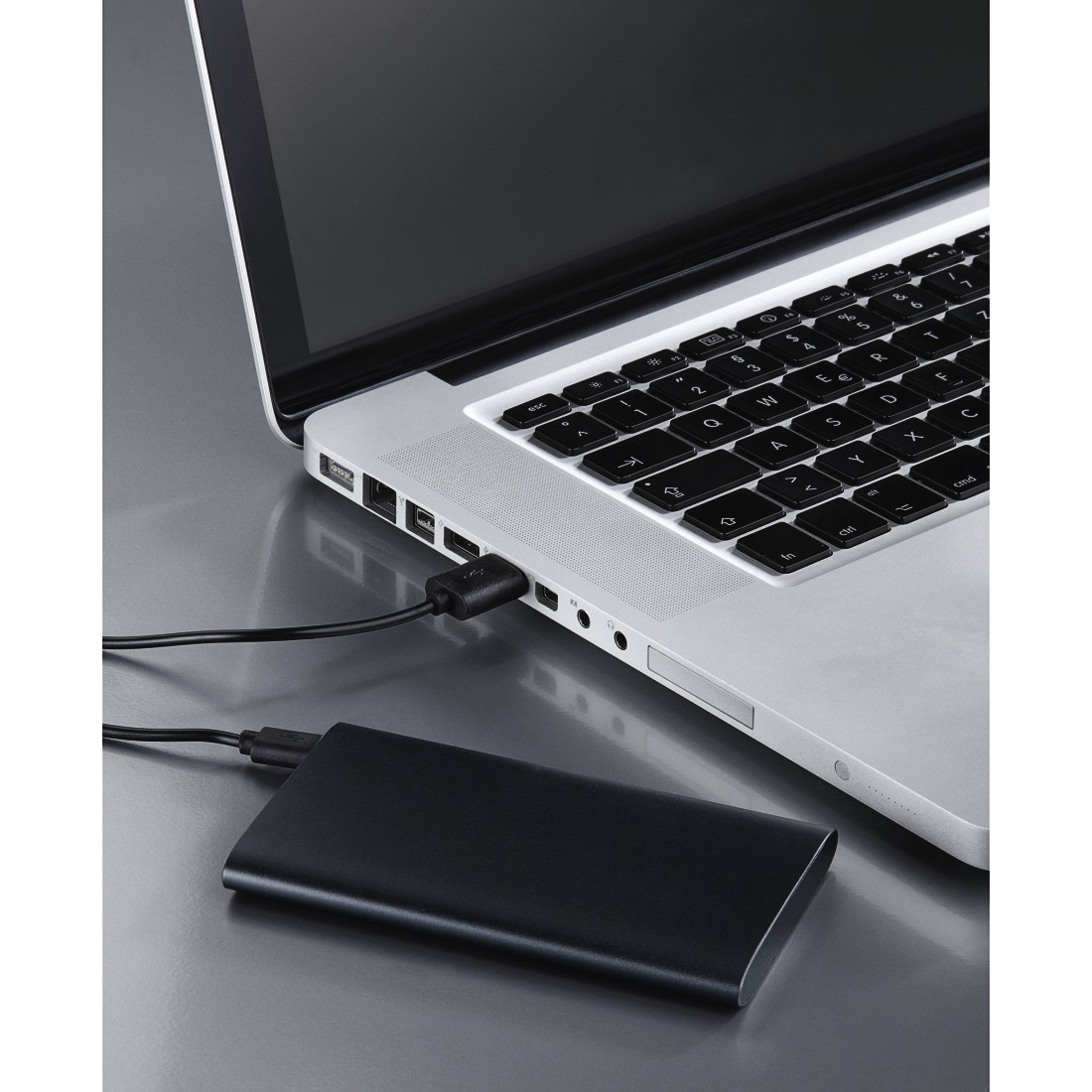 awx2 High-Res Appliance 2 - Hama, Premium Alu Power Pack, 5000 mAh, anthracite