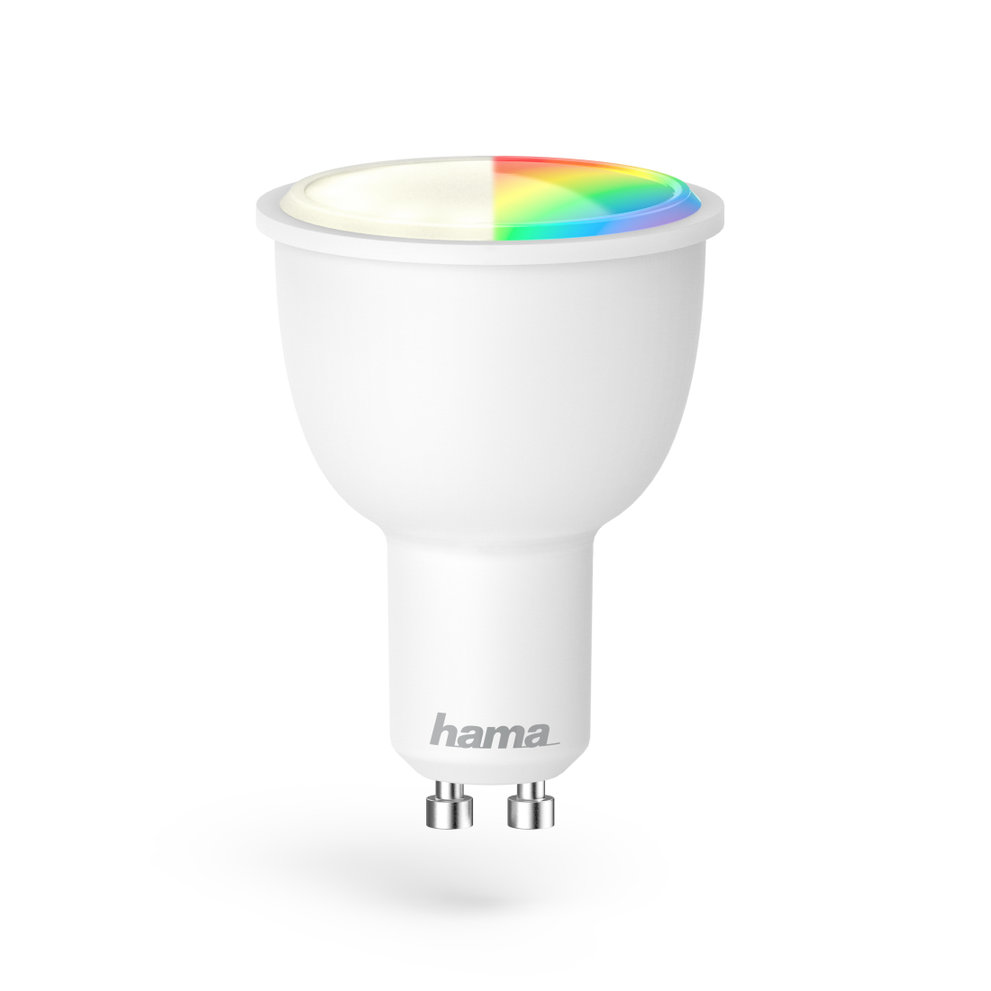 WiFi LED Lampe, GU10, 4,5W, RGB, Dimmbar
