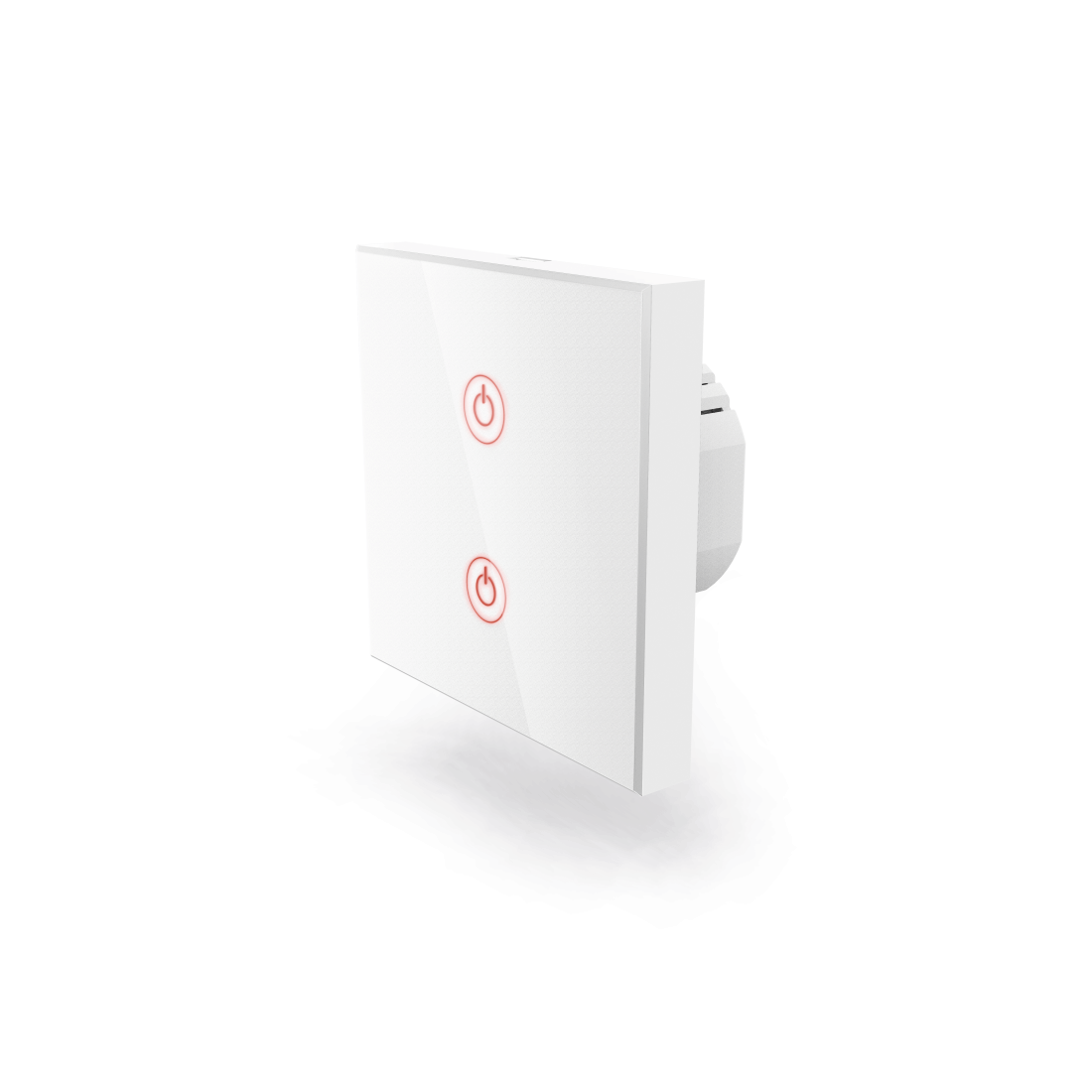 abx High-Res Image - Hama, WiFi Touch Wall Switch, Flush-mounted, white