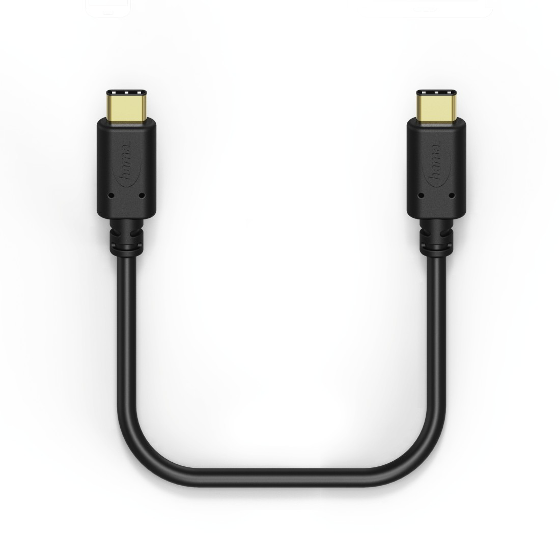 dex High-Res Detail - Hama, Charging/Data Cable, USB Type-C - USB Type-C, 1.4 m, black