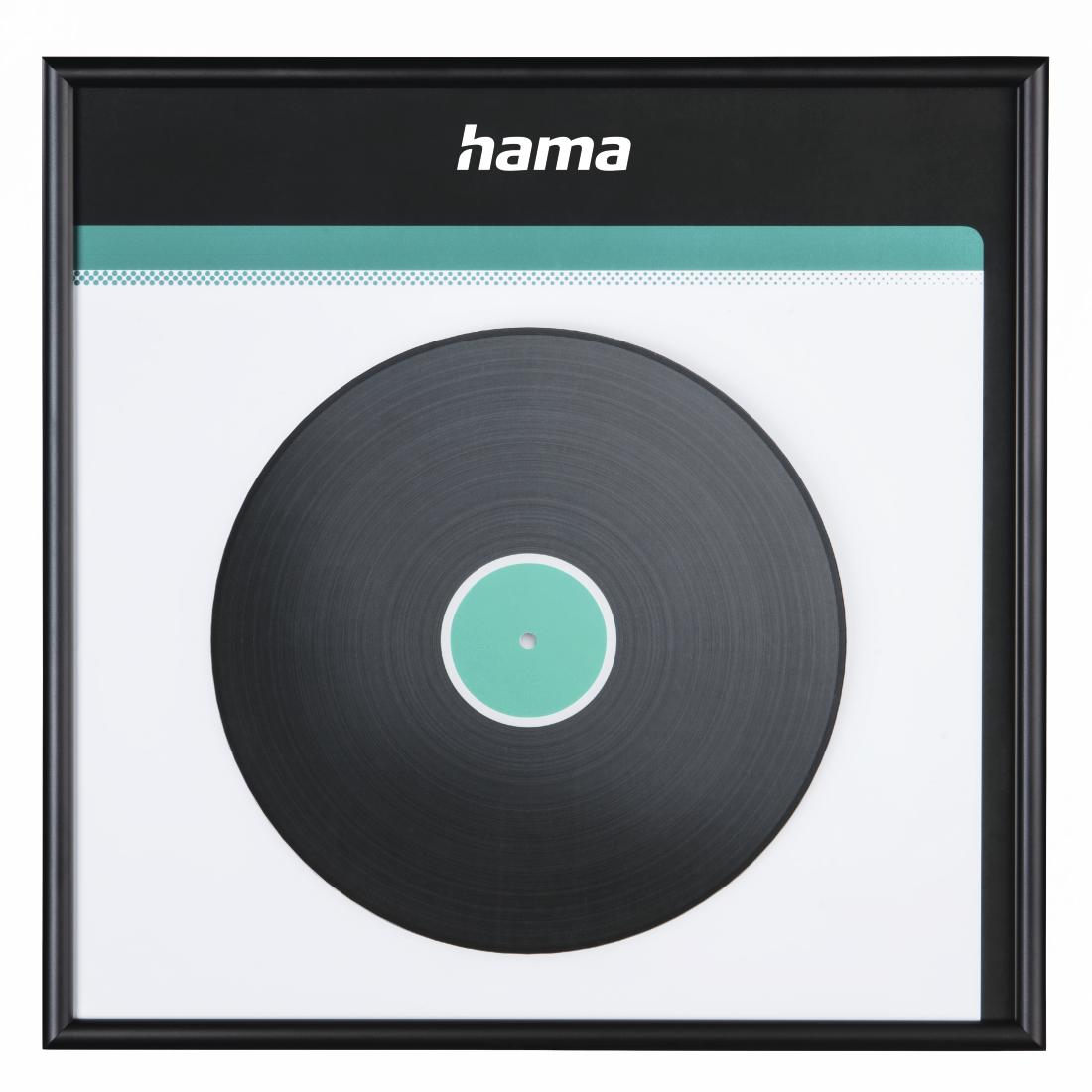 hama.com   00181445 Hama LP-Cover-Rahmen, Aluminium, Schwarz, 31,5 x ...
