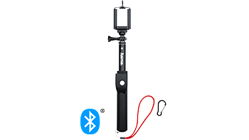 Selfie Stick with Bluetooth trigger