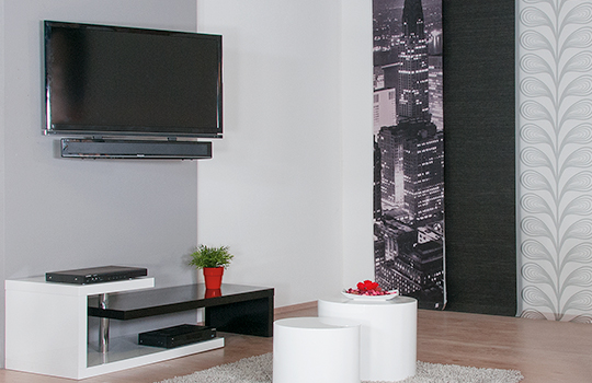 tv lowboard f r soundbar inspirierendes design f r wohnm bel. Black Bedroom Furniture Sets. Home Design Ideas