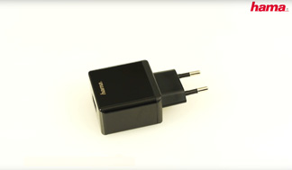 "Hama ""Qualcomm® Quick Charge™ 2.0"" 230V Charger"