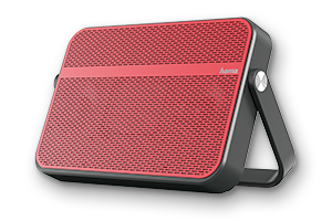 Blade Mobile Bluetooth Speaker, red/black